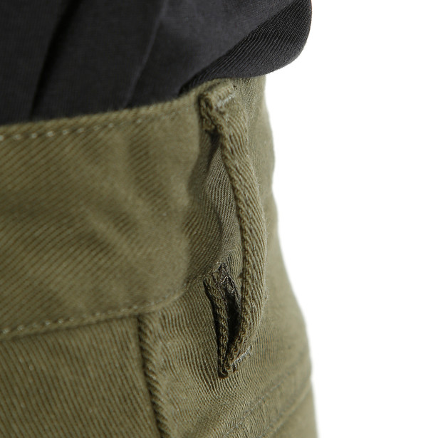 CLASSIC SLIM TEX PANTS OLIVE- undefined