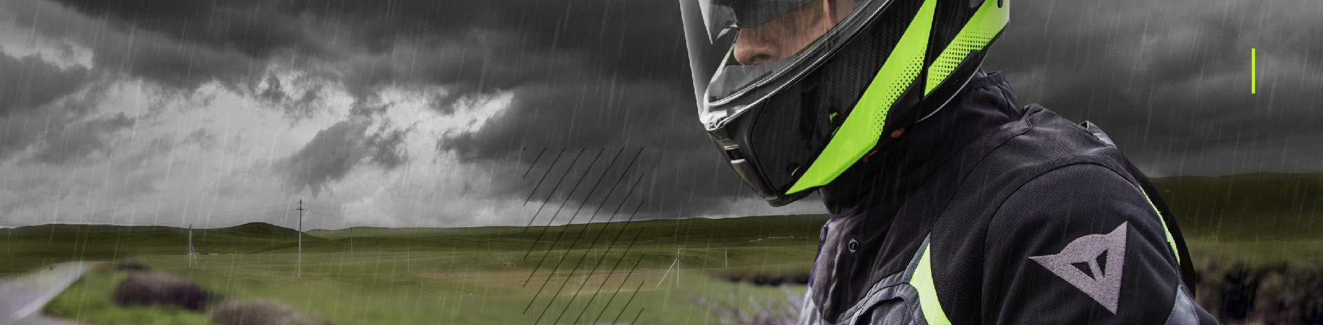 Dainese Riding in the rain