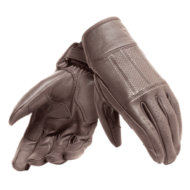 HI-JACK UNISEX GLOVES DARK-BROWN- Leder