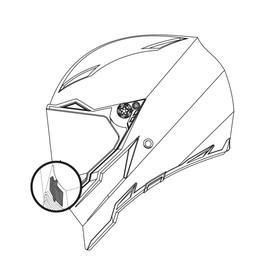 BREATH DEFLECTOR AX-8/EVO/DUAL - Accessori