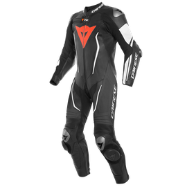 MISANO 2 D-AIR PERF. 1PC SUIT BLACK/BLACK/WHITE