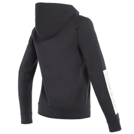 DAINESE FULL-ZIP SWEATSHIRT LADY BLACK- Casual Wear