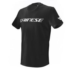 DAINESE T-SHIRT BLACK/WHITE- T-Shirts