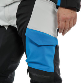 TONALE D-DRY PANT GLACIER-GRAY/PERFORMANCE-BLUE/BLACK- Pants