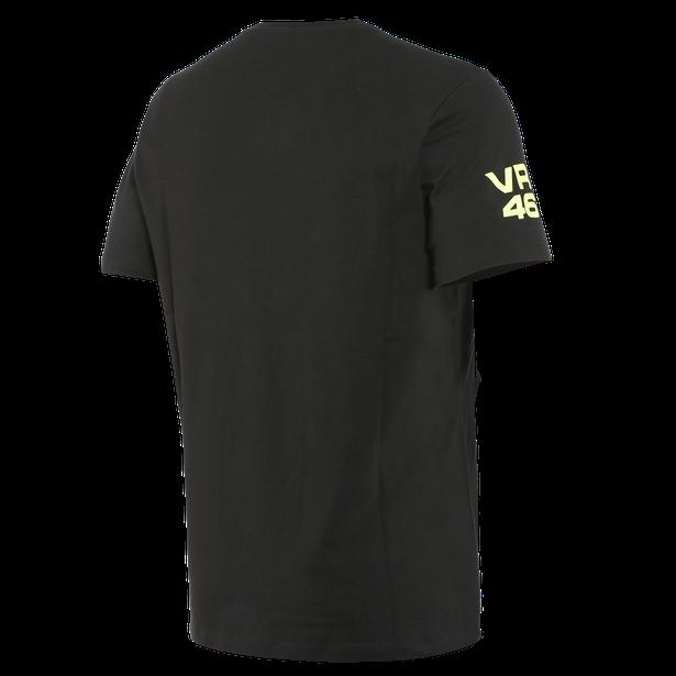 T-SHIRT VR46 PIT LANE  BLACK/FLUO-YELLOW- VR46