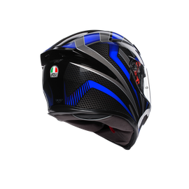 K-5 S MULTI ECE DOT - HURRICANE 2.0 BLACK/BLUE - K-5 S