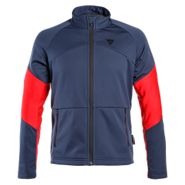 HP2 MID FULL ZIP MAN BLACK-IRIS/CHILI-PEPPER/HIGH-RISK-RED- Thermal Layers
