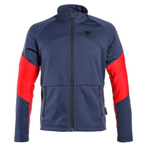 HP2 MID FULL ZIP MAN BLACK-IRIS/CHILI-PEPPER/HIGH-RISK-RED- Unterwäsche