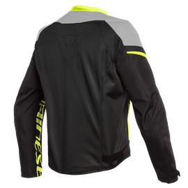 BORA AIR TEX JACKET BLACK/MAGNESIO-MATT/FLUO-YELLOW- Textil