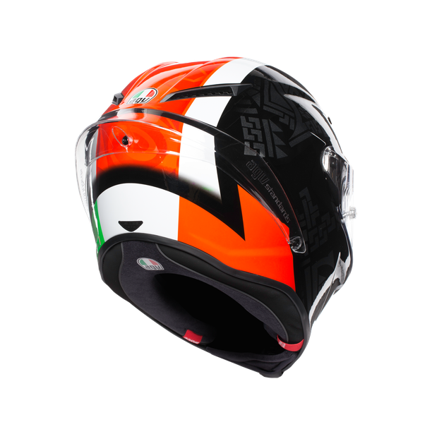 CORSA R E2205 MULTI - CASANOVA BLACK/RED/GREEN - Full-face
