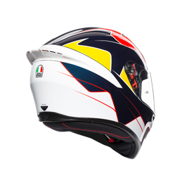 K1 MULTI ECE2205 - PITLANE BLUE/RED/YELLOW - Full-face