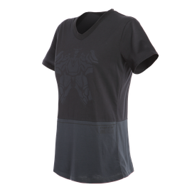 LAGUNA SECA  LADY T-SHIRT BLACK/ANTHRACITE