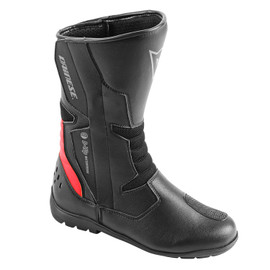 TEMPEST D-WP® BOOTS BLACK/RED- Promotions moto