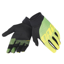 DRIFTEC GLOVES GREEN/YELLOW- Handschuhe