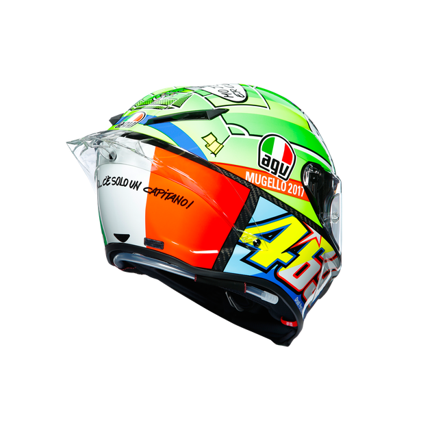 PISTA GP R LIMITED EDITION ECE DOT - ROSSI MUGELLO 2017 - undefined