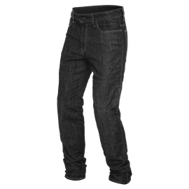 DENIM REGULAR TEX PANTS BLACK- undefined