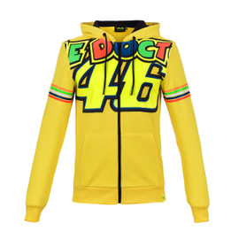 THE DOCTOR 46 HOODIE YELLOW