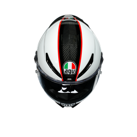 PISTA GP RR ECE DOT MULTI - SCUDERIA CARBON/WHITE/RED - Pista GP RR