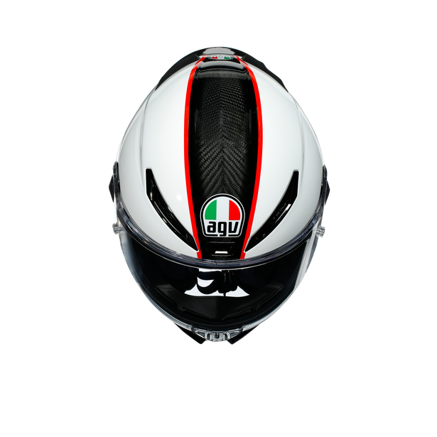 PISTA GP RR ECE DOT MULTI - SCUDERIA CARBON/WHITE/RED - Integrale