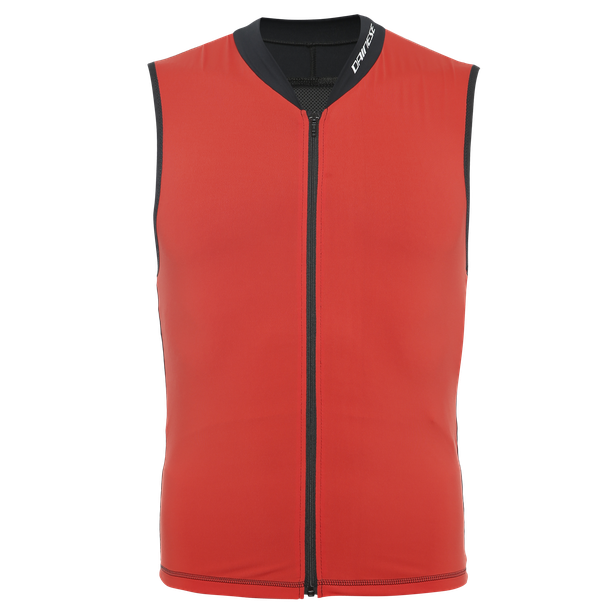AUXAGON VEST HIGH-RISK-RED/STRETCH-LIMO- Rückenschutz