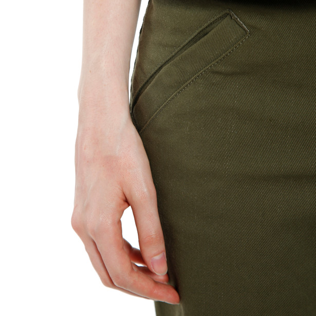 TRACKPANTS LADY TEX PANTS OLIVE- Women
