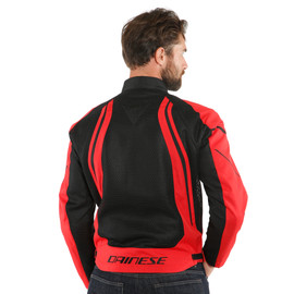 AIR CRONO 2 TEX JACKET BLACK/LAVA-RED/LAVA-RED- Textil