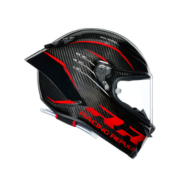 PISTA GP RR ECE DOT MULTI - PERFORMANCE CARBON/RED - Pista GP RR