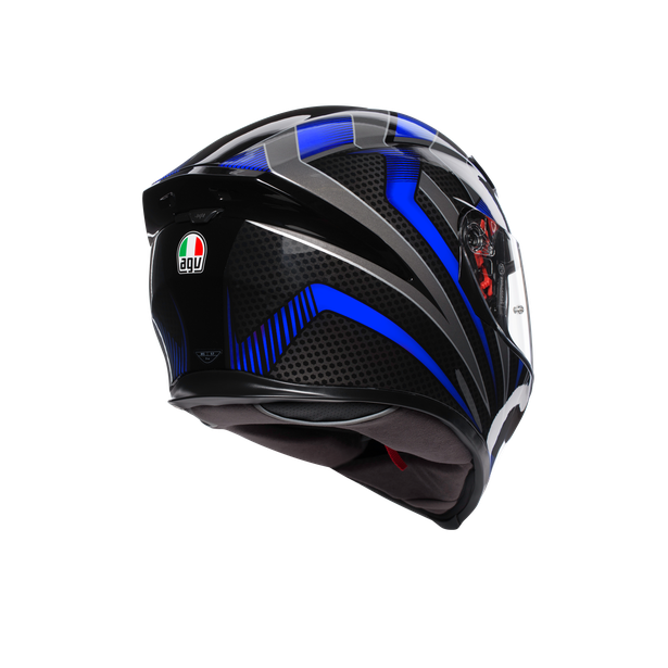 K-5 S E2205 MULTI - HURRICANE 2.0 BLACK/BLUE - Full-face