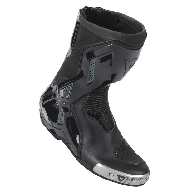 TORQUE D1 OUT AIR BOOTS BLACK/ANTHRACITE- Cuir