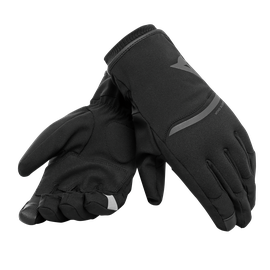PLAZA 2 D-DRY GLOVES BLACK/BLACK