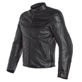 BARDO PERF. LEATHER JACKET BLACK