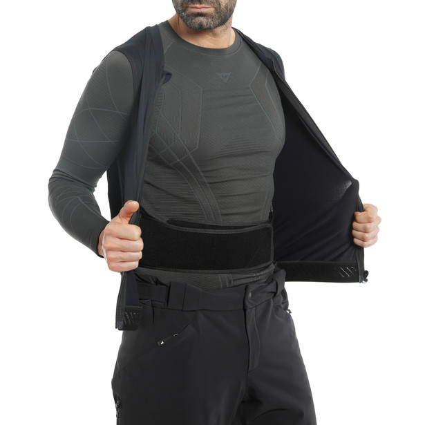 AUXAGON WAISTCOAT MAN STRETCH-LIMO/STRETCH-LIMO- Back