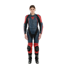 AVRO D2 2 PCS LADY BLACK-IRIS/HAUTE-RED- Deux Pieces