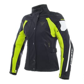 RAIN MASTER LADY D-DRY® JACKET BLACK/GLACIER-GRAY/FLUO-YELLOW