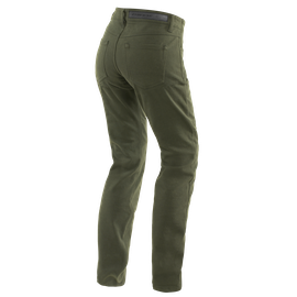 CASUAL SLIM LADY TEX PANTS OLIVE- Women