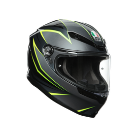 K6 E2205 MULTI - FLASH GREY/BLACK/LIME