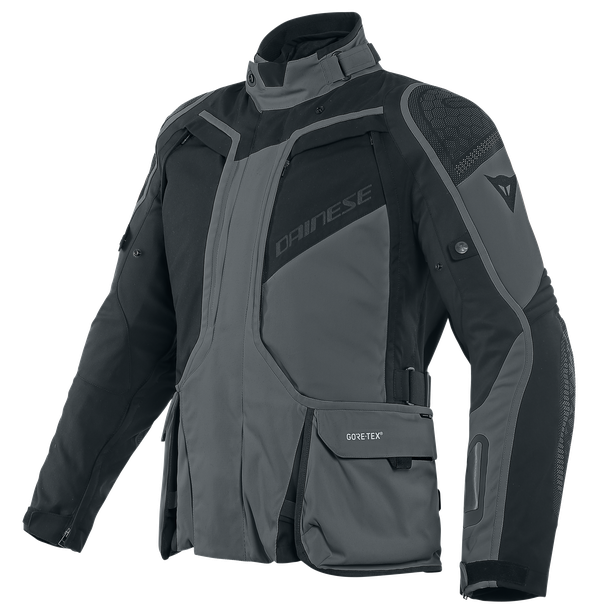 D-EXPLORER 2 SHORT/TALL GORE-TEX JACKET EBONY/BLACK- Gore-Tex®