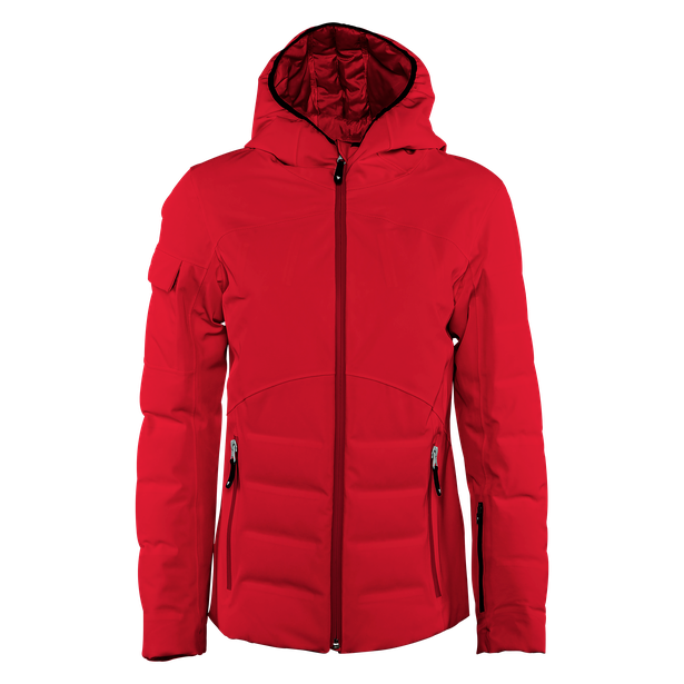SKI DOWNJACKET SPORT WOMAN CHILI-PEPPER- Women Winter Downjackets