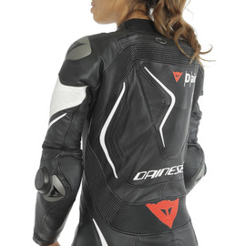 MISANO 2 LADY D-AIR PERF. 1PC SUIT BLACK/BLACK/WHITE- undefined