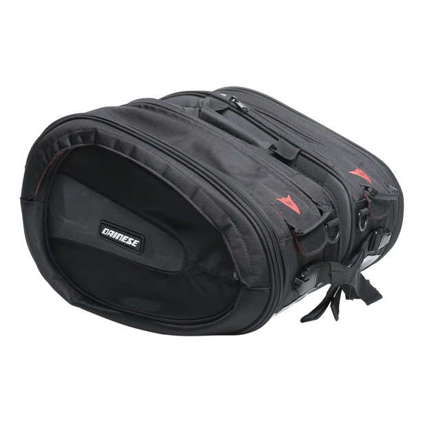 D-SADDLE MOTORCYCLE BAG STEALTH-BLACK- Borse