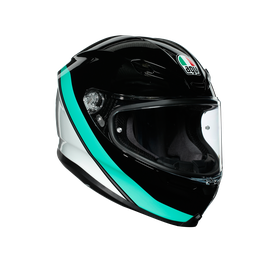 K6 ECE DOT MULTI - MINIMAL BLACK/PEARL WHITE/AQUA
