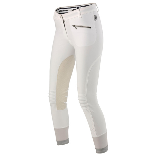 CIGAR PANTS LADY WHITE- Pants