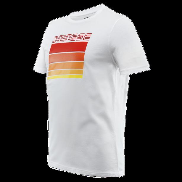 STRIPES T-SHIRT WHITE/RED- T-Shirts