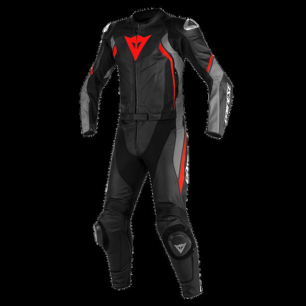 AVRO D2 2 PCS SUIT BLACK/MATT-GRAY/LAVA-RED- Two Piece Suits