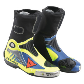 R AXIAL PRO IN AIR REPLICA D1 BOOTS VAL 16 GIALLO-FLUO/BLU-YAMAHA- 40