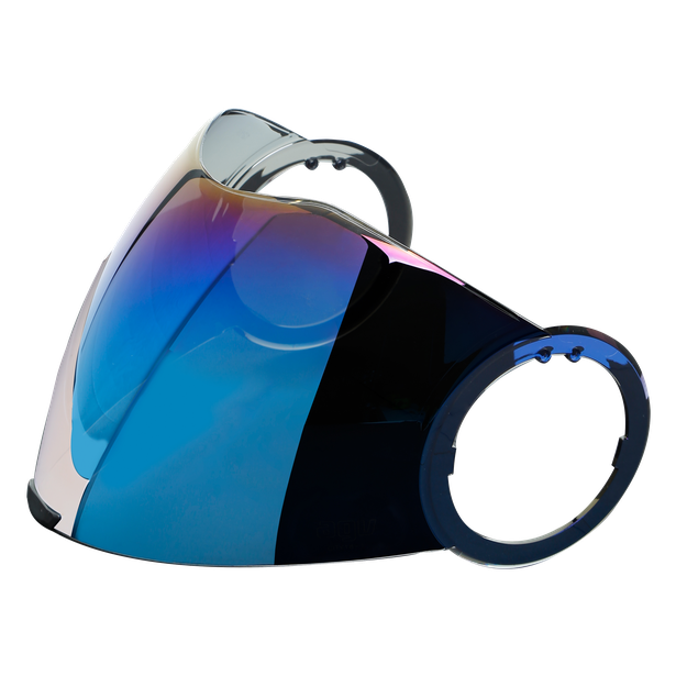 Visor CITY 18-1 IRIDIUM BLUE  - Orbyt