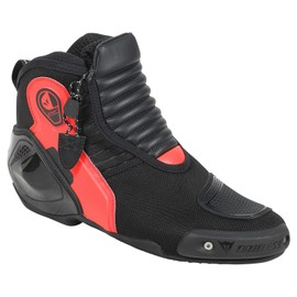 DYNO D1 SHOES BLACK/FLUO-RED- Pelle
