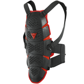 PRO-SPEED BACK - LONG BLACK/RED