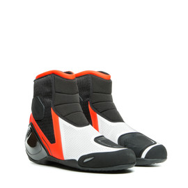 DINAMICA AIR SHOES BLACK/FLUO-RED/WHITE- Tessuto