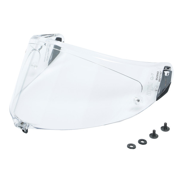 RACING KIT VISOR PISTA GP RR/PISTA GP R/CORSA R  (+screws) - CLEAR - Accessories